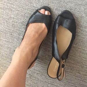 Naturalized size 9 heels - genuine leather comfy